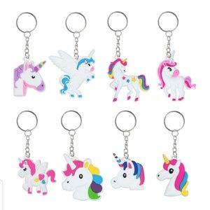 🆕🦄NWOP Unicorn Key Chain/Bag Charm Set of 8